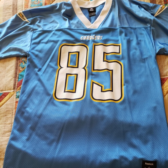 competitive price bd90a 479bc Chargers Jersey 85 Gates size L